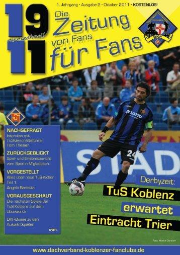 Wir sind stolz auf unsere Fans! - Dachverband Koblenzer Fanclubs eV