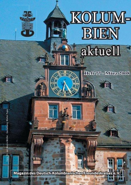Magazin des Deutsch-Kolumbianischen Freundeskreises e. V.