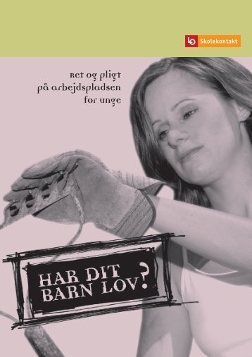 Har dit barn lov.pdf - LO Mariagerfjord