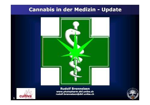 Cannabis in der Medizin Cannabis in der Medizin - Rudolf Brenneisen