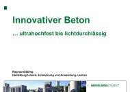 Innovativer Beton - TBG Transportbeton Kocher-Rems GmbH & Co ...
