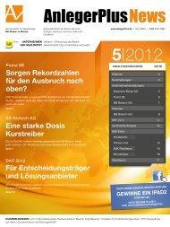News 5 2012 - AnlegerPlus