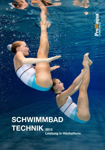 ProMaqua® Katalog - Schwimmbadtechnik 2012 - ProMinent