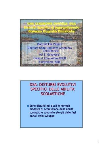 dsa - Associazione Italiana Dislessia