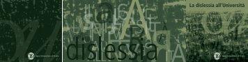 Dislessia - Laboratorio di Osservazione Diagnosi e Formazione
