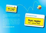 Rejsesygesikringen - nye regler fra 1. januar 2008 - Danske Regioner