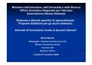 Dislessia e disturbi specifici di apprendimento Proposte didattiche ...