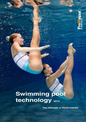 Swimming pool technology 2012
