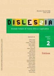 Dislessia 2-06 - Centralmente