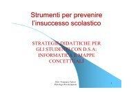 Strategie didattiche per studenti con DSA.pdf - ITIS Tullio Buzzi
