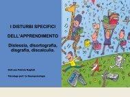 I DISTURBI SPECIFICI DELL'APPRENDIMENTO Dislessia - Istituto ...