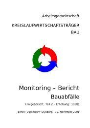 2. Monitoring-Bericht des KWTB