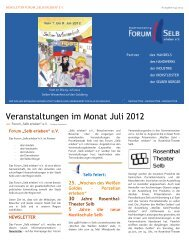 Newsletter 04/2012 - Forum
