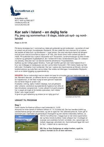 Kør selv i Island – en dejlig ferie - kulturretur.dk
