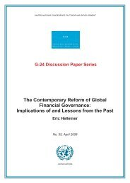 The Contemporary Reform of Global Financial Governance ... - Unctad