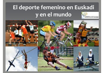 El deporte femenino en Euskadi IRAIA ITURREGI