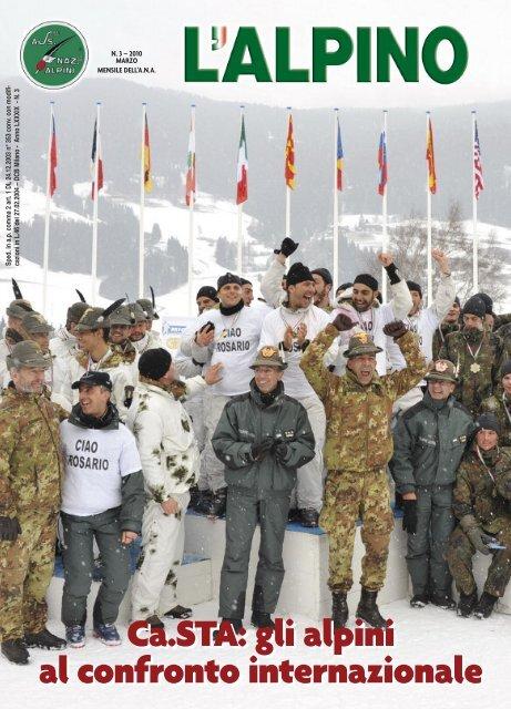 Calendario Prossime Adunate Alpini.L Alpino Marzo 2010 Adunata Nazionale Alpini Bergamo