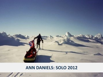 World first First woman to ski solo to the North Pole - Shout