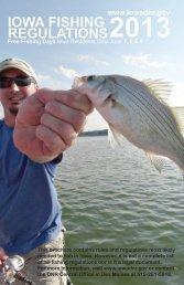 Iowa Fishing Regulations - Iowa Department of Natural Resources