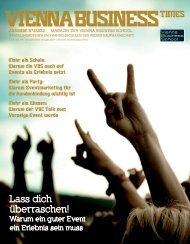 Lass dich überraschen! - Vienna Business School