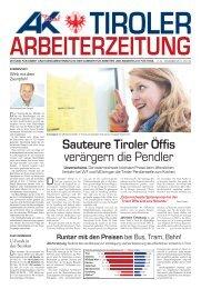 Tiroler Arbeiterzeitung November 2011 (pdf 2,0 mb - AK - Tirol