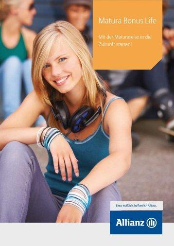 Download Folder BonusLife - Unternehmen - Allianz