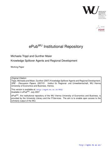 Download (139Kb) - Electronic Publications of the WU-Wien ...