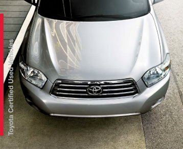 Certified Pre-Owned - Certified Used Toyota