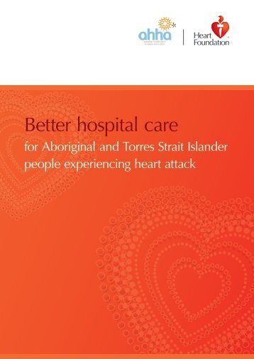 Better hospital care for Aboriginal and Torres Strait - ACT Health