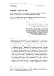 Selbst- und Fremdverortungen: (I) Zur soziokulturellen ... - Themen