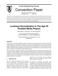 Loudness Normalization In The Age Of Portable Media Players