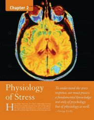 Physiology of Stress - Jones & Bartlett Learning