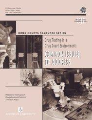 Drug Testing in a Drug Court Environment - National Criminal ...
