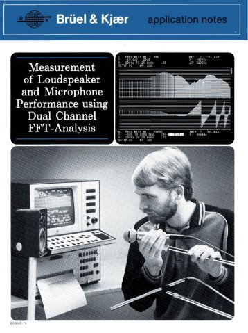 Measurement of Loudspeaker and Microphone Performance using ...