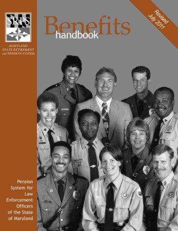 LEOPS Handbook 7-11:LEOPS Handbook.qxd.qxd - Maryland State ...