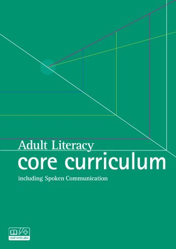 Adult Literacy Core Curriculum - Nationally developed Skills for Life ...