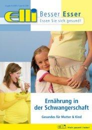 Ernährung in der Schwangerschaft - Elli Markt