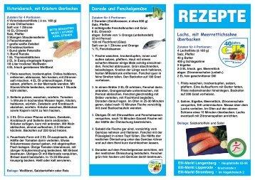 REZEPTE - Lachs - Elli Markt