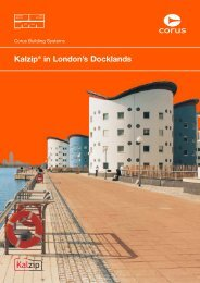 Kalzip in London's Docklands