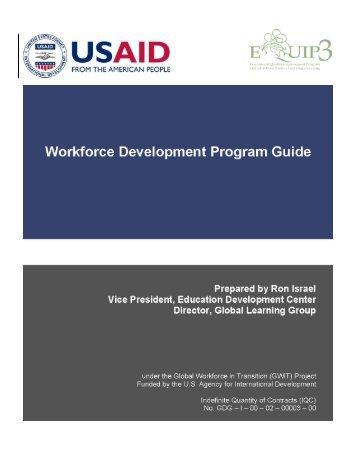Workforce Development Program Guide - EQUIP123.net
