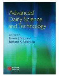Advanced Dairy Science