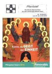 Donnerstag, den 06. Mai 2010 - kirche-daun.de