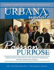 Spring 2011 - Urbana University