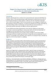Rapport fra ekspertseminar - BankID som mulig nasjonal - NSM ...