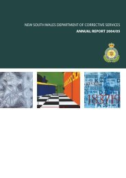 annual report 2004/05 - Corrective Services NSW - NSW Government