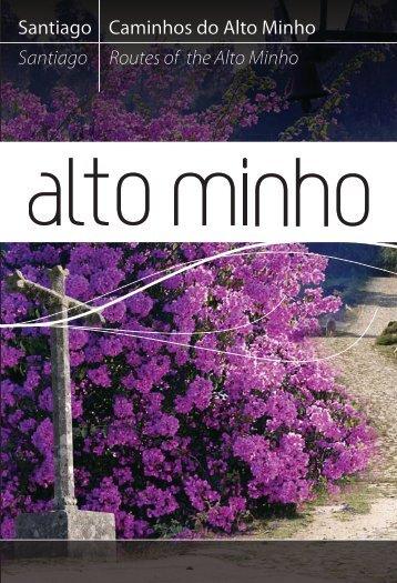 Brochura dos Caminhos de Santiago