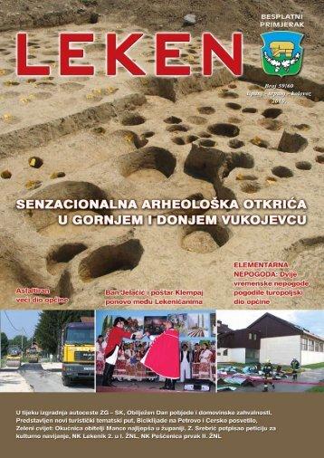 Leken 59/60 2010 1 - Turistička zajednica Općine Lekenik