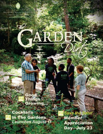 Save the Date! - Birmingham Botanical Gardens