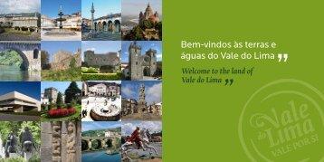 Bem-vindos às terras e águas do Vale do Lima
