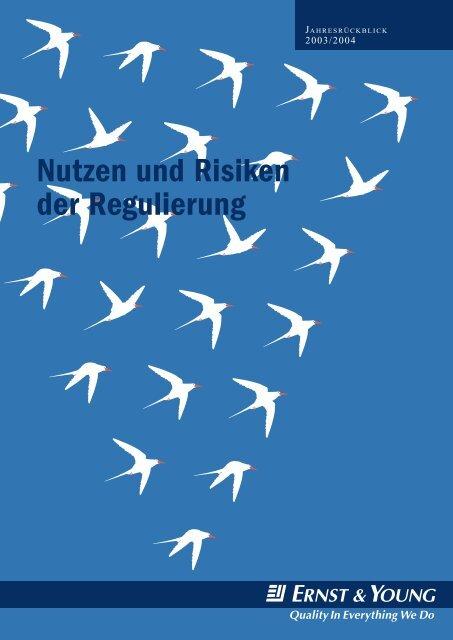 Nutzen und Risiken der Regulierung - Home - Ernst & Young ...